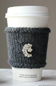 Posh Cashmere Cup Cozy