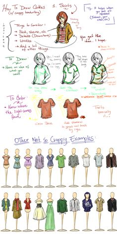 Clothes Tutorial by ~Dippy18