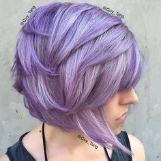 Guy Tang created this amazing metallic violet using #KenraColor Silver Metallic + Violet Booster and #KenraColorCreative Violet! Love!!  #MetallicObsession #GuyTangKenra #GuyTang #Kenra