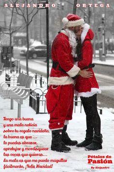COLABORADORES      ALEJANDRO ORTEGA   Tengo una buena y una mala noticia sobre tu regalo navideño, la buena es que lo puedes abrazar, apretujar y mordisquear las veces que quieras...  La mala es que me puedo magullar fácilmente, ¡Feliz Navidad!