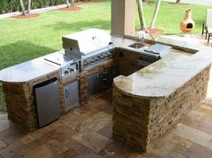 imposing outdoor kitchen cabinet frames from plywood material with