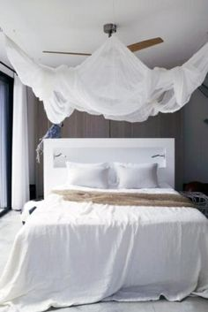 Himmelbett für das Schlafzimmer