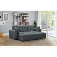 Looking for BroyerK 3 pc Reversible Sleeper Sectional Sofa Bed (Light Grey) ? Check out our picks for the BroyerK 3 pc Reversible Sleeper Sectional Sofa Bed (Light Grey) from the popular stores - all in one. Sectional Sleeper Sofa, U Shaped Sectional, Sofa Seats, Chaise Sofa, Couches, Small Sectional, Fabric Sectional, Sofa Furniture, Living Room Furniture