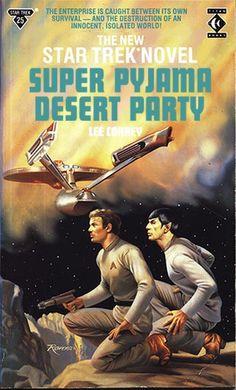 'Shopped Star Trek book covers #startrek