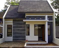 house design and architecture consultant. Minimalist House Design, Small House Design, Minimalist Home, Beautiful House Plans, Beautiful Homes, Exterior Design, Interior And Exterior, Tropical Architecture, Castle House