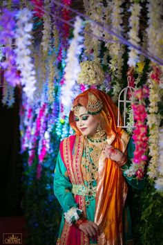 A beautiful bride of Bangladesh.