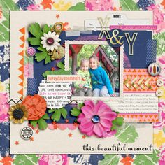 Kit: Life as we know it - Sugarplum Paperie & Sahlin Studio Template: Fussfree freebie 78 - Fiddle-dee-dee Designs Font: Vaguely Fatal