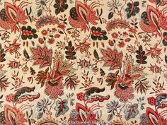 Floral design of Indian Flowers, by Christophe-Phillipe Oberkampf…