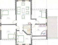 1 + 1 = 3 skjønne engler og et hus: Plantegninger Planer, Floor Plans, Interior, Indoor, Floor Plan Drawing, Interieur, Interiors, House Floor Plans