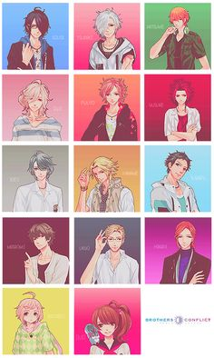 brothers conflict kiss - Google Search Me Me Me Anime, Anime Guys, Anime People, Brother Conflict, Diabolik Lovers Ayato, Oc Manga, Anime Toon, Familia Anime, Step Brothers