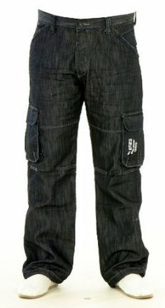 Product Description Specifications: Made of high quality fibres Premium quality product with stylish look Coated & cuffed denim jeans High fashion stylish jeans Suitable for Beach, casual & party wear Colour: Black & Blue Brand: Enzo RRP: £49.99