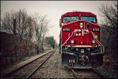 Canadian Pacific Railway 8703 by Michael W Hrysko Photography, via 500px