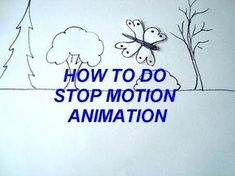 Learn how to do stop motion animation movies! You can make short movies using drawings or lego figures clay figures e How To Do Animation, Animation Stop Motion, Animation Movies, Animation Storyboard, Animation Image Par Image, Stop Motion Movies, Frame By Frame Animation, Animation Tutorial, Motion Video