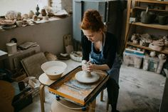 Make Pottery at Home- Shopping & To-do Lists To Get You Started in DAYS » Project Dilettante Adobe Photoshop Lightroom, What Is Pottery, Studios D'art, Make Your Own Pottery, Small Grill, How To Patch Drywall, Pottery Tools, Pottery Wheel, Pottery Clay