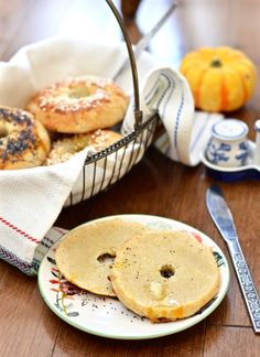 Grain free bagels. Have I caught your attention yet? I hope so. Because today I am lucky enough to share the bagel recipe from the ne...