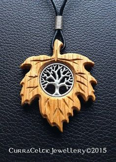 027 Tree of Life in silver on Oak Dremel Carving, Wood Carving, Wooden Jewelry, Handmade Jewelry, Wooden Bag, Chip Carving, Wood Stone, Metal Crafts, Wire Wrapped Jewelry