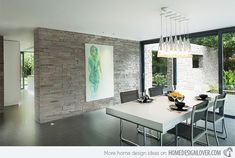Be Amazed With These 15 Modern Luxurious Dining Rooms | Home Design Lover
