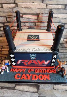 Wrestling cake, WWE