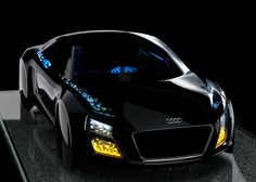 Driverless cars and OLED headlights by Audi at CES 2013