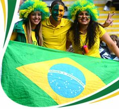 2014 World Cup Fans Soccer World, Soccer Fans, World Cup 2014, Fifa World Cup, Flags, Brazil, Joy, Football, Game