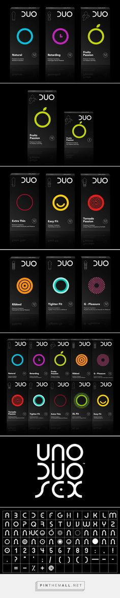 DUO #Condoms #packaging redesigned by Mousegraphics - http://www.packagingoftheworld.com/2015/04/duo-condoms-redesigned.html