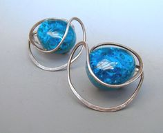 Elsa Freund Elsaramic Earrings - one of my favorite Arkansas artists!