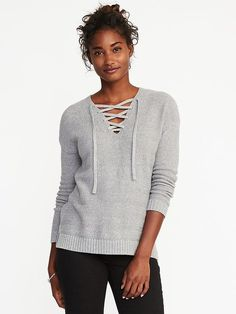 Old Navy Open-Front Super-Long Sweater for Women | Fashion ...