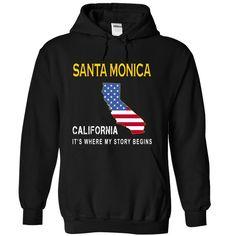SANTA MONICA - Its Where My Story Begins T-Shirts, Hoodies, Sweaters