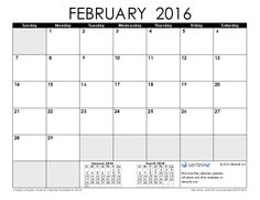 49 best calendar 2016 images on pinterest printable calendar