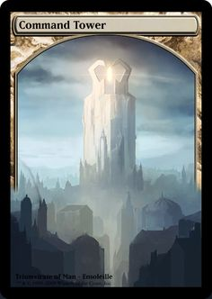 Magic the Gathering - Command Tower by ASliceOfUnagi on DeviantArt