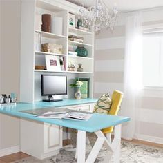 aqua home office - Google Search