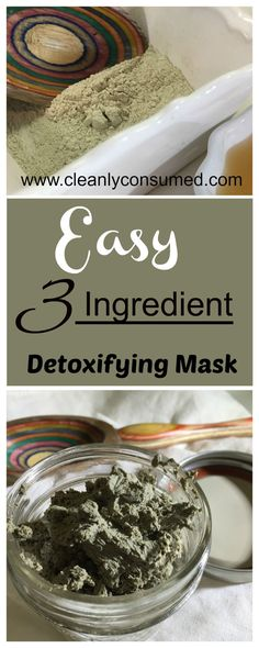This recipe should be called Super Easy Clay Mask – Why Didn't I Do This Before Mask!