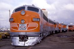 Western Pacific 805-A, an FP7 preserved at the Western Pacific Railroad Museum in California