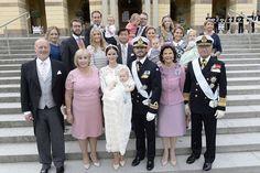 9 September 2016 - The Christening of Prince Alexander - dress by Ida Sjödstedt