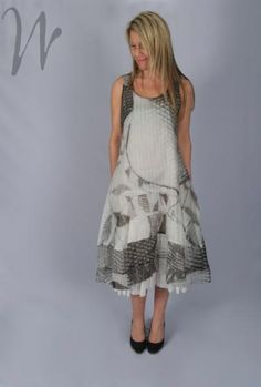 Rundholz Tunic Dress 1060911  rh1153 (Black / Design 3 Other)