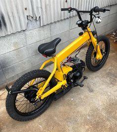 Gambar mungkin berisi: sepeda dan sepeda Motor Bmx Scooter, 20 Bmx Bike, 24 Bmx, Bmx Bike Parts, Motorcycle Bike, Bicycle Art, Bicycle Design, Road Bike, Diamondback Bmx