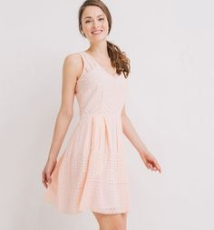 Retro dress pink - Promod