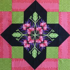 quatrefoil block free pattern | High Drama Quatrefoil Block — Free How-To & Some Ideas