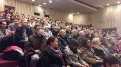 Лекция-презентация Мастера Сюй Минтана в Одессе (Украина) (фото Зои Лигвинской).