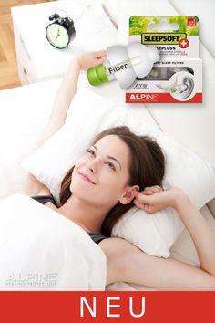 Ohrstöpsel für einen ungestörten Schlaf | Alpine SleepSoft+