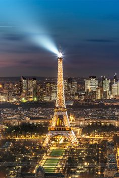 Eiffel Tower. Shine bright like a diamond.