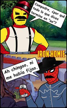 spidercholo y iron homie - Buscar con Google