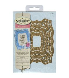 Beautify your handmade paper crafts with attractive die-cut accents using the Spellbinders Nestabilities Dies. Cut, stencil or emboss various craft materials using these beautiful nested dies. These d