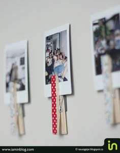 Fun teen craft. If they add magnets they can hang pics in their lockers.