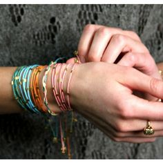 Confetti Wrap Bracelets... love it alone or added to a collection on my wrist!