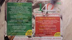 Menù di Capodanno 2014 !!!  http://www.140grammi.com/news-di-140-grammi/28-capodanno-2015-da-140-grammi-a-carbonazzi-cena-e-menu-da-asporto.html