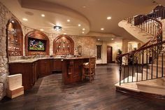 Most amazing basement...wow