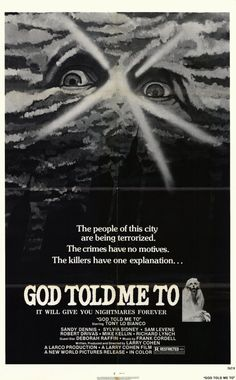 God Told Me To (1976).