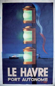 LE HAVRE «Port autonome». 1947