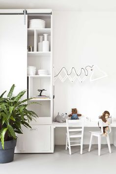 Lichte speelhoek | Light corner for kids | Photographer Barbara Kieboom | Styling Frans Uyterlinde | vtwonen special